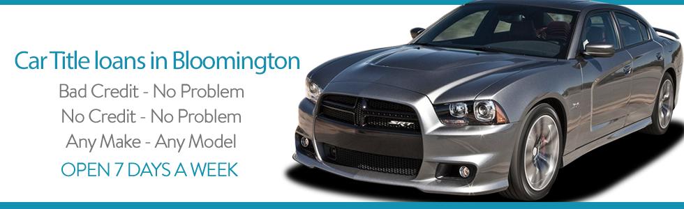 Bloomington Title Loans